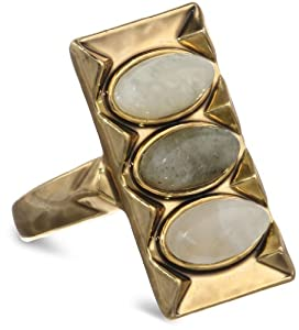 Amazon.com: House of Harlow 1960 Gold-Plated MoonStone and ...