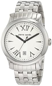 Pierre Cardin Men's PC104121F05 International Stainless-Steel Fashion Watch