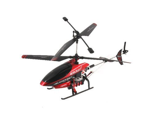 852 Mini R/C Wireless Radio Controlled 4C Helicopter with Gyroscope and Flashing LED Light