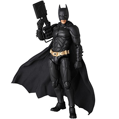 Medicom The Dark Knight Rises: Batman Mafex Version 2.0 Figure (Blue Batman Cowl compare prices)