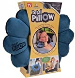 Urban Living Total Pillow A Perfect Travel Pillow(Multicolor,POLY/MICROBEADS)