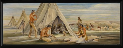 Plains Indians (Mural Study) back-1050350