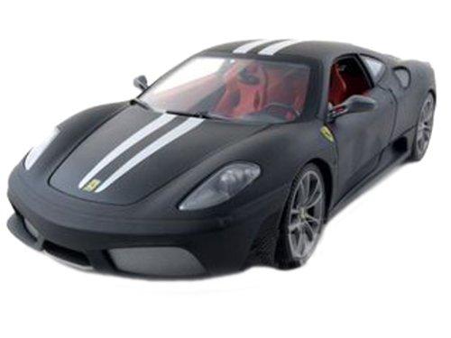 Modellino Auto Ferrari 430 Scuderia Matt Nero Scala 1:18