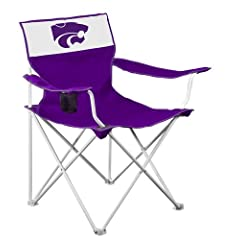 Buy Logo Chair Kansas State Wildcats Canvas Chair by Logo