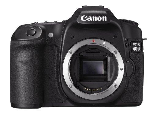 Canon - EOS 40D appareil photo Reflex numérique - capteur CMOS APS-C 10,1 Mpix - DIGIC III - Ecran LCD 3 pouces - alliage de magnésium