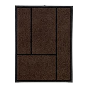 Ikea koge door mat brown black 69x90 cm for Door mats amazon