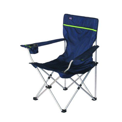 bel sol camping chaise pliable bazaar bleue chaise de camping mobilier de camping chaises. Black Bedroom Furniture Sets. Home Design Ideas