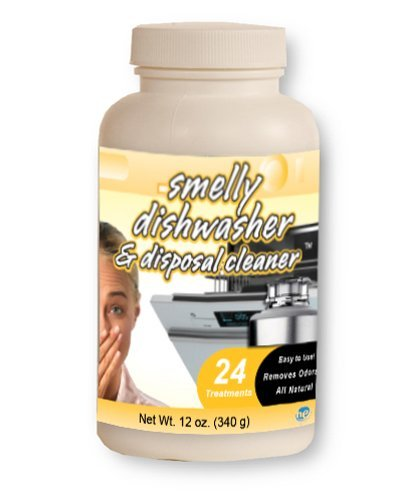 Smelly Washer 216 Dishwasher and Disposal Cleaner, 48 Treatments, (2 - 12 oz. Bottles)