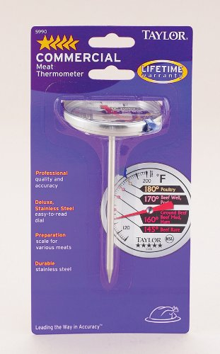 Harold Import 5990 Professional Meat Thermometer (Taylor 5990 Meat Thermometer compare prices)