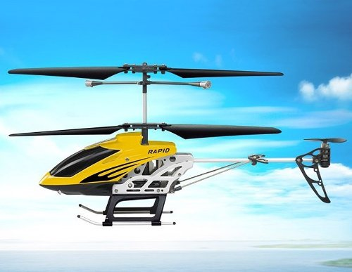 SongYang TOYS 8088-40 3.5-Channel Alloy Infrared RC Helicopter (Yellow)