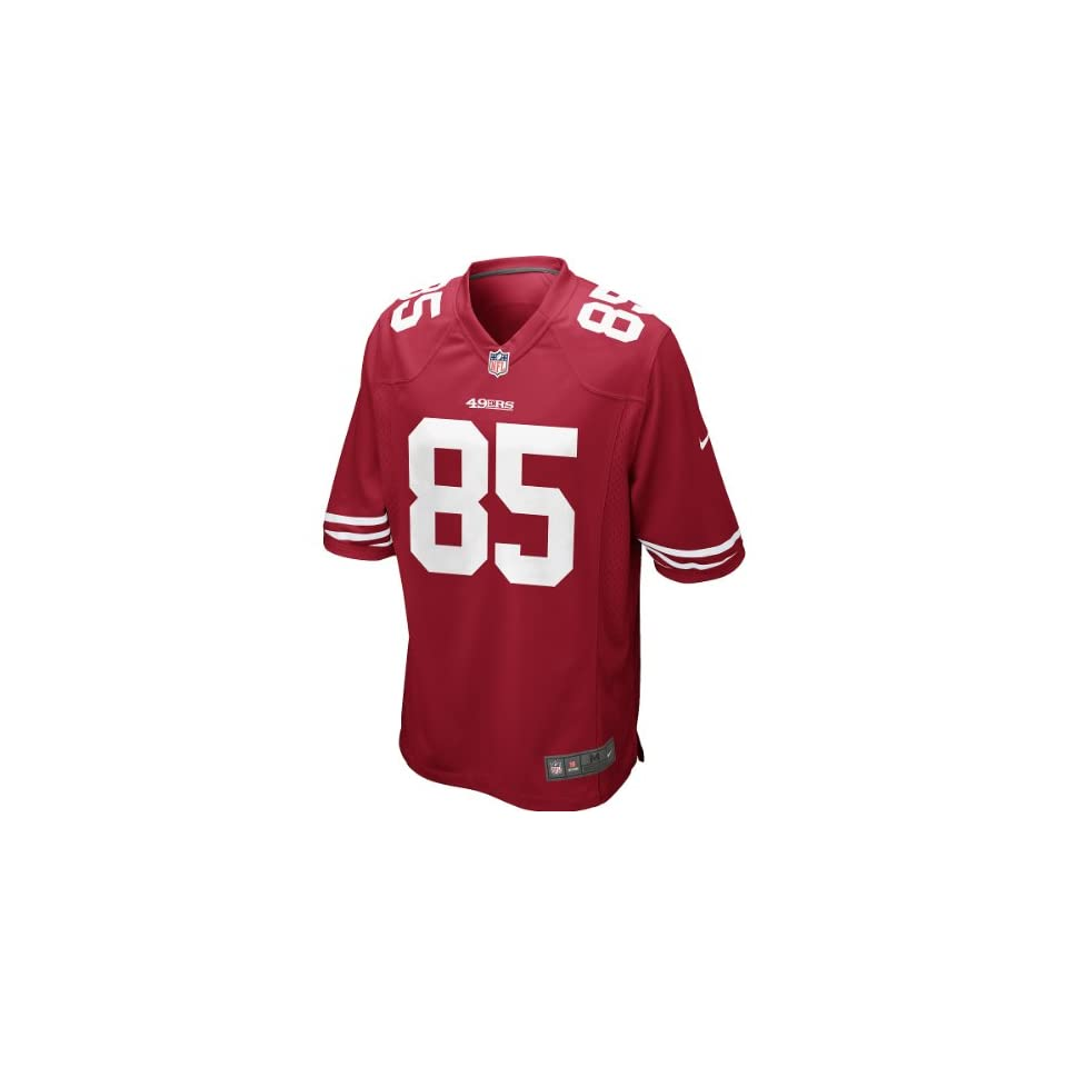 Nike Mens NFL San Francisco 49ers (Vernon Davis) Game Jersey Size X Large