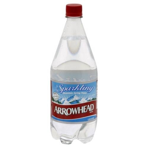 Arrowhead Sparkling Spring Water, 1-Ounce (Pack of 12)