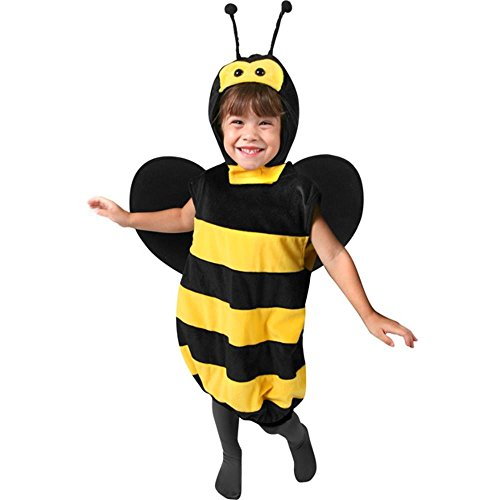 SKM Enterprise Girls Plush Bee Halloween Costume