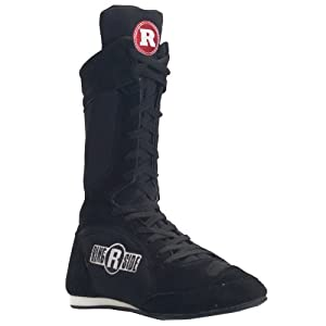Ringside Ring Master Boxing Shoes (Black, 6)