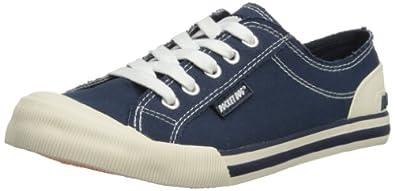 Rocket Dog Jazzin Canvas, Women Low-Top Sneakers, Blue (Canvas), 3 UK (35 EU)