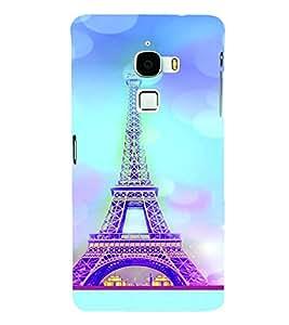 PrintVisa Travel Paris Eifel 3D Hard Polycarbonate Designer Back Case Cover for LeEco Le Max