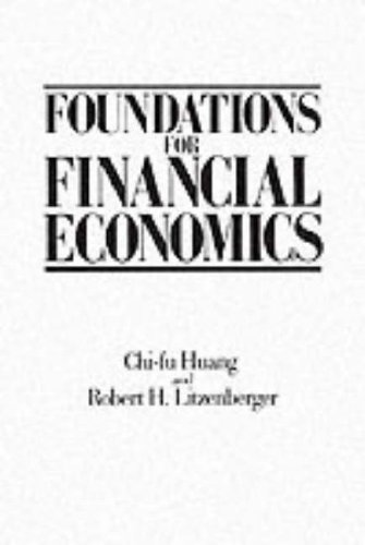 Foundations for Financial Economics