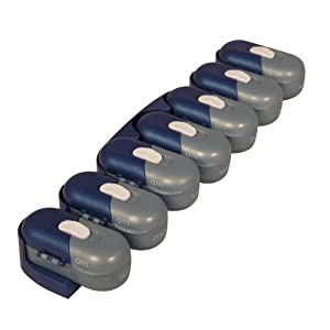 Portable Pill Organizer Pod Containers