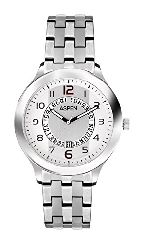 Aspen Aspen Workwear Analog Silver Dial Men's Watch - AM0044