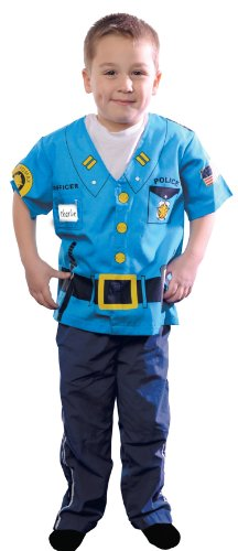 AEROMAX - My First Career Gear - Police Toddler Costume