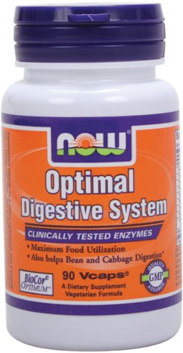NOW Foods Optimal Digestive System, 90 Vcaps