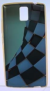 FCS Designer Silicon Back Case for Intex Aqua Craze With Printed Design.