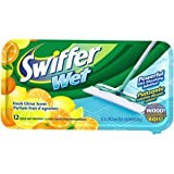 Swiffer Wet Lemon Scented Refills 12 pads