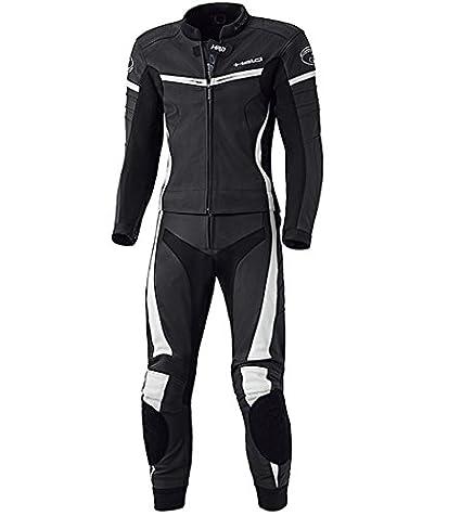 Held Spire Moto Cuir Combi 2pièces taille: 54couleur: noir et blanc