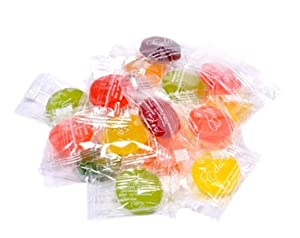 Edas Sugar Free Mixed Fruit Hard Candy Individually Wrapped Ou Parve Uses Sorbitol Low Sodium from Geneva Supply - Grocery
