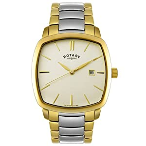 Rotary Men's GB02522/03 Two Tone Stainless Steel Watch
