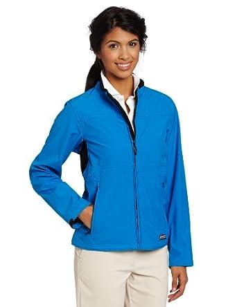 Ansai Golf Ladies Mobile Warning Golf Softshell Jacket (Sapphire, Medium) by Ansai Golf