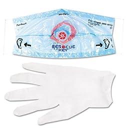 ** Rescue Breather Face Shield, 1/Box