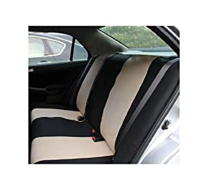 FH-FB050R010 Flat Cloth Univerisal Bench Seat Covers from FH