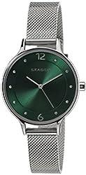 Skagen Women's SKW2325 Crystal-Accented Stainless Steel Watch