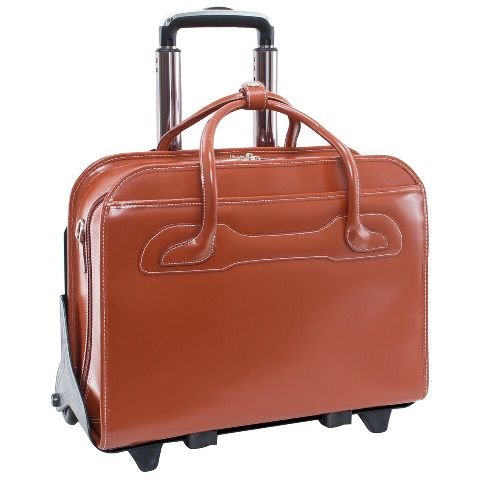mcklein-willowbrook-brown-detachable-wheeled-ladies-briefcase-94984
