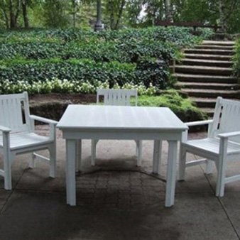 CR Plastic Products 5 Piece Dining Set