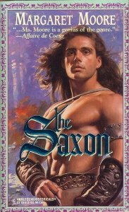 Saxon (Harlequin Historical, No 268), MARGARET MOORE