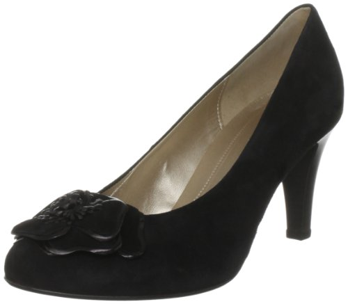 Gabor Women's Delicate Suede Black Platforms Heels 45.211.17 6.5 UK