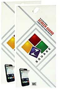 Square Screen Protectors for Lenovo A390 Pack of 2