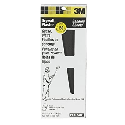 3M Pro-Pak Drywall Sanding Sheets 150D-Grit