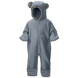 Columbia Baby Boys\' Tiny Bear II Bunting, Tradewinds Grey/Graphite, 12/18 Months