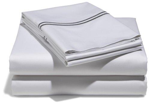 White Bedding King 8017 front