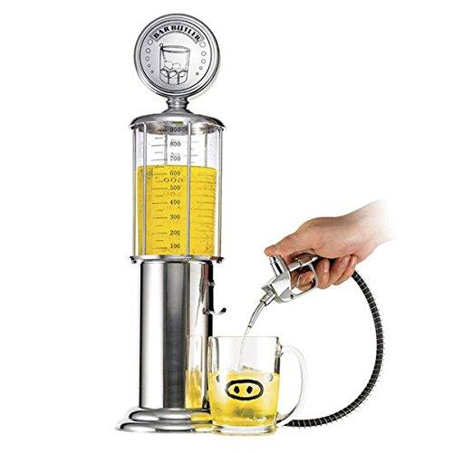 Jieweixin® Bar Butler Drink Dispenser Beer Machine Liquor Gas Pump Beverage Dispenser Decanter Petrol Pump Design for Home Party, Bar