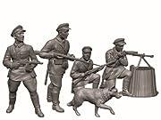 ズベズダ ZV6144 1/72 ソビエト国境警備兵
