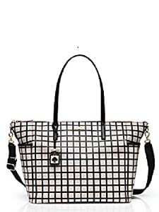 Kate Spade Bridgewater Drive Adaira Stripe Baby Diaper Bag by Kate Spade New York