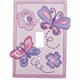 Babies R Us By Design Butterfly Switch Plate Cover