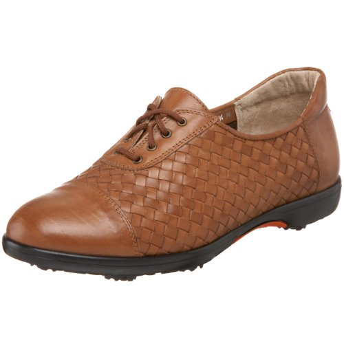 Sesto Meucci Women's Glary Golf Shoe,Tan,9 M US
