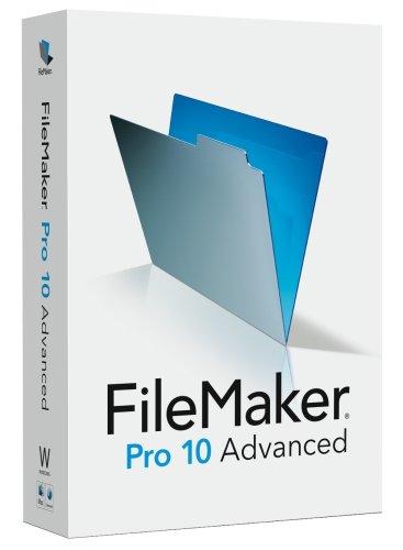 FileMaker Pro 10 Advanced Upgrade (Filemaker Pro 10 Advanced compare prices)