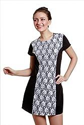 Meiro Women's Body Con Dress (14106_Black_Large)