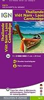 85110 THAILANDE/VIET-NAM/LAOS/CAMBODGE  1/2M